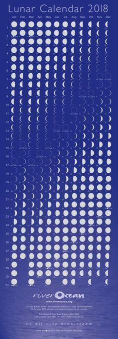 Lunar calendar 2018