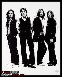 Beatles-Long and Winding Road, The Art of Stephen Quick (Splintered Studios)