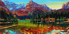 David langevin the best hiking in the world Canadian Artists, Old Master, British Columbia, Impressionism, Wilderness, My Arts, David, Paintings, Inspiring Art