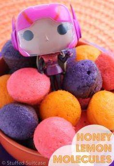 Honey Lemon Molecules - Dessert Recipe for Big Hero 6 Movie Night - great for family night fun!