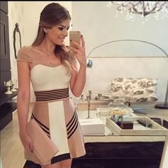 New 2016 Women Elegant Party Dress Short Sleeve O-neck Patchwork Mini Sexy Dress vestidos de festa