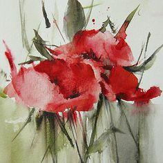 Poppy 1 by Annemiek Groenhout