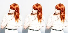 florence and the machine, photographed by Cybele Malinowski