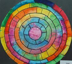 Art Room Blog: 3rd Grade Color Wheels...