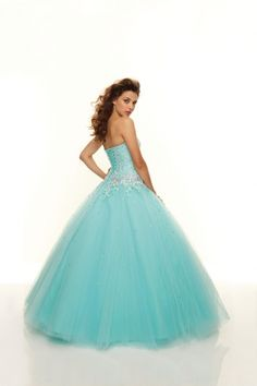 Paparazzi by Mori Lee 93093 Embroidered Tulle Prom Ball Gown