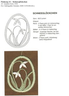 Archiwum albumów Bobbin Lacemaking, Bruges Lace, Bobbin Lace Patterns, Lace Jewelry, Needle Lace, Easter Eggs, Techno, Projects To Try, Album