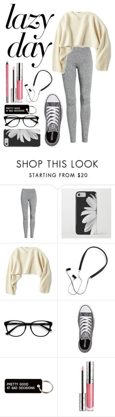 """Untitled #459"" by destiny-ivey on Polyvore featuring Treasure & Bond, Uniqlo, Polaroid, EyeBuyDirect.com, Converse, Various Projects, By Terry and Urban Decay"