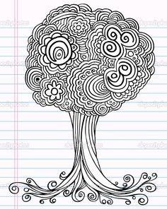деревья рисунок - Поиск в Google
