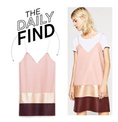 """The Daily Find: Zara Dress"" by polyvore-editorial ❤ liked on Polyvore featuring DailyFind"