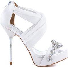 David Tuteras White Bouquet - White