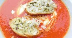SKŁADNIKI:          3 puszki pomidorów (całe, krojone)   3 cebule  1 marchewka  2 - 3 ząbki czosnku  3 łyżki oliwy z oliwek  1 łyżka mąki  3... Food And Drink, Mexican, Fit, Ethnic Recipes, Rezepte, Mexicans
