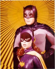 ·batman ·batgirl ·1960 ·yvonne craig ·adam west