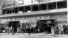 Portsmouth Woolworths 1950s