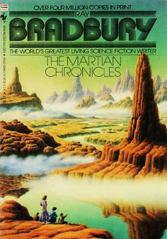The Martian Chronicles by Ray Bradbury, published by Bantam Books (1982)