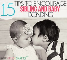 15 Tips To Encourage Sibling and Baby Bonding.just in case I'm blessed enough to have another baby. 2nd Baby, Baby Kids, Baby Boy, New Parents, New Moms, New Sibling, My Bebe, Infant Activities, Baby Hacks