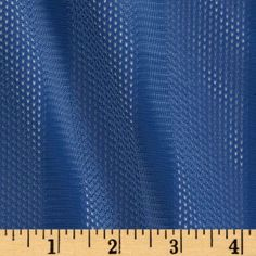 3 Pointer Nylon Athletic Mesh Stripes Royal