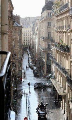 Rainy Paris. @thecoveteur