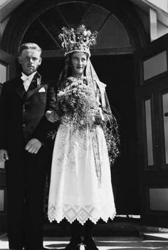 Galleri NOR Brudepar Gloppen Sandane 1936