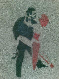 street(art)tango #charmiesbywendy, #charmedindeed #welaughatthee