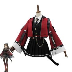 Cosplay Outfits, Edgy Outfits, Anime Outfits, Mode Outfits, Cute Casual Outfits, Pretty Outfits, Pretty Dresses, Cosplay Costumes, Cosplay Dress