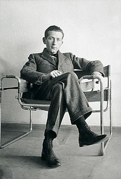 Marcel #Breuer, #Wassily #Chair (B3), ca. 1926 / Photo by Courtesy Constance L. Breuer