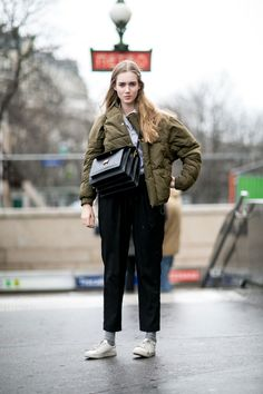 Paris Fashion Week: Women's Street Style Fall 2016 Day 7 by Vincenzo Grillo   The Impression