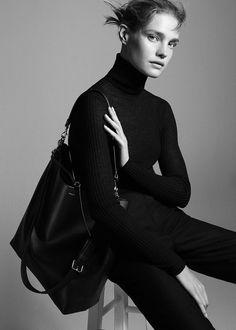 Natalia Vodianova for Theory Fall Winter 2015