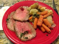 Fitness By Alicia: Weight Watchers Herb Crusted Roast Beef and Vegetables