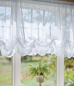 """vhc brands balloon 60"""" curtain valance 