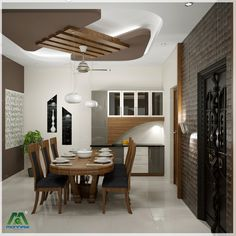 We are top architecture firm & home interior designers in Kochi, Kerala. Simple False Ceiling Design, House Ceiling Design, Ceiling Design Living Room, Bedroom False Ceiling Design, False Ceiling Living Room, Home Ceiling, Interior Design Living Room, Minimal House Design, Plafond Design