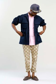 Danny Brown models Mark McNairy 2013 Spring/Summer Collection (1/2)