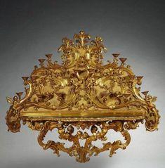 *Italian Rococo console. Venice, mid-eighteenth century
