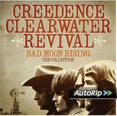 Buy Bad Moon Rising: The Collection by Creedence Clearwater Revival at Mighty Ape NZ. During an all too short four-year run that spanned 1968 to Creedence Clearwater Revival crafted some of the most popular, influential and enduri. Creedence Clearwater Revival, Moon Rise, Woodstock, The Midnight Special, Free Guitar Lessons, Stop The Rain, Rock Album Covers, Vintage Rock, Guitars
