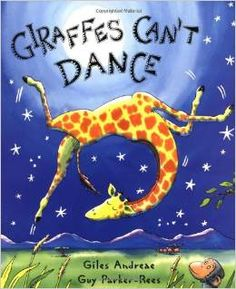 The bestselling Giraffes Can't Dance is now a board book!Giraffes Can't Dance is a touching tale of Gerald the giraffe, who wants nothing more than to dance. With crooked knees and thin legs, it's harder for a giraffe than you would think. Gerald The Giraffe, Notice And Note, Giraffes Cant Dance, Books To Read, My Books, Dance Books, Song Books, Audio Books, Richard Scarry