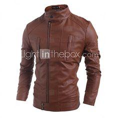 f34656a707d00 Abrigo Hombre - PU Con Forro 2017 -  105244 Men Jacket