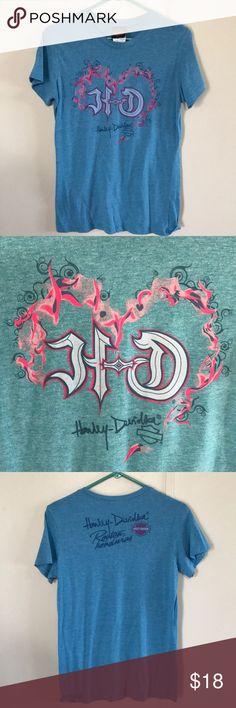 Harley-Davidson T-shirt Super cute HD T-shirt. Super soft Tops Tees - Short Sleeve