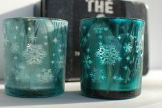 Komplet Lampionów Płatki Śniegu