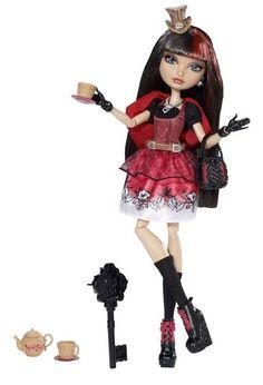 Ever After High Hat-Tastic Cerise Hood Doll : Target