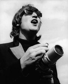 John with a camera