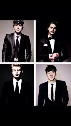 This is the second time I've pinned this...they just look so AMAZING!!!!!>such spiff |||much hot ||so suits