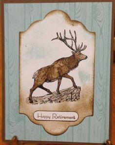 The Wilderness Awaits; Masculine Card; www.jansstampingcreations.com