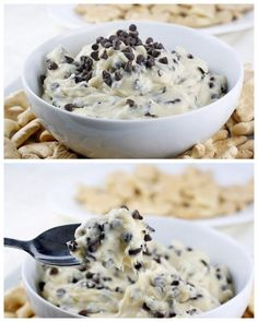 Chocolate Chip Cookie Dough Dip | What Megan's Making