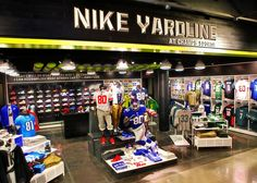 Sports Store | Retail Design | Shop Interior | Sports Display | NIKE, Inc. - Nike and Champs launch first-ever football retail destination