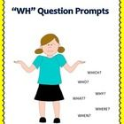"""Elicit+WH+Questions  This+activity+was+written+to+help+elicit+""""wh""""+questions+from+students+working+on+expressive+language.+This+is+also+a+great+les..."""