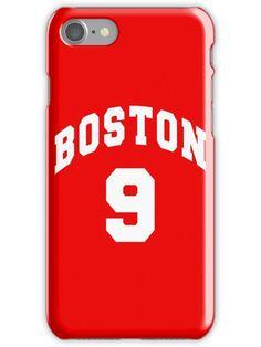 Jack Eichel - BU  9 - red jersey  iPhone Case by ianscott76 95d3ead8d