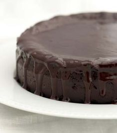 The Sweet Details: Flour-less Chocolate Cake