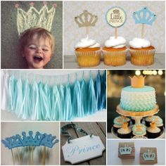 Throw the little prince a royal party for his 1st birthday!