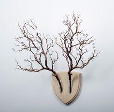 Elkebana: Symmetrical Flower Wall Trophies Inspired by Japanese ...