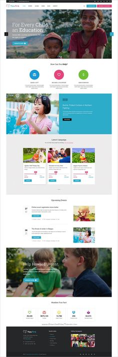 Charity Donation Nonprofit \/ Fundraising HTML Template See - ngo templates