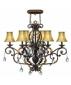 Hinkley Lighting 4896 Veranda 38 Inch Single Tier Chandelier